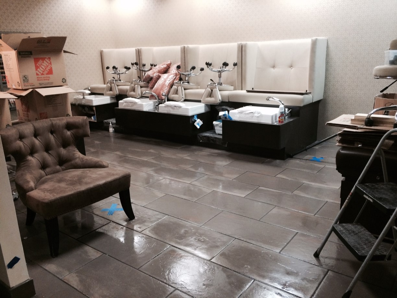Hair Salon Strip, Seal and Wax Floors in Highland Park, TX 05 ...