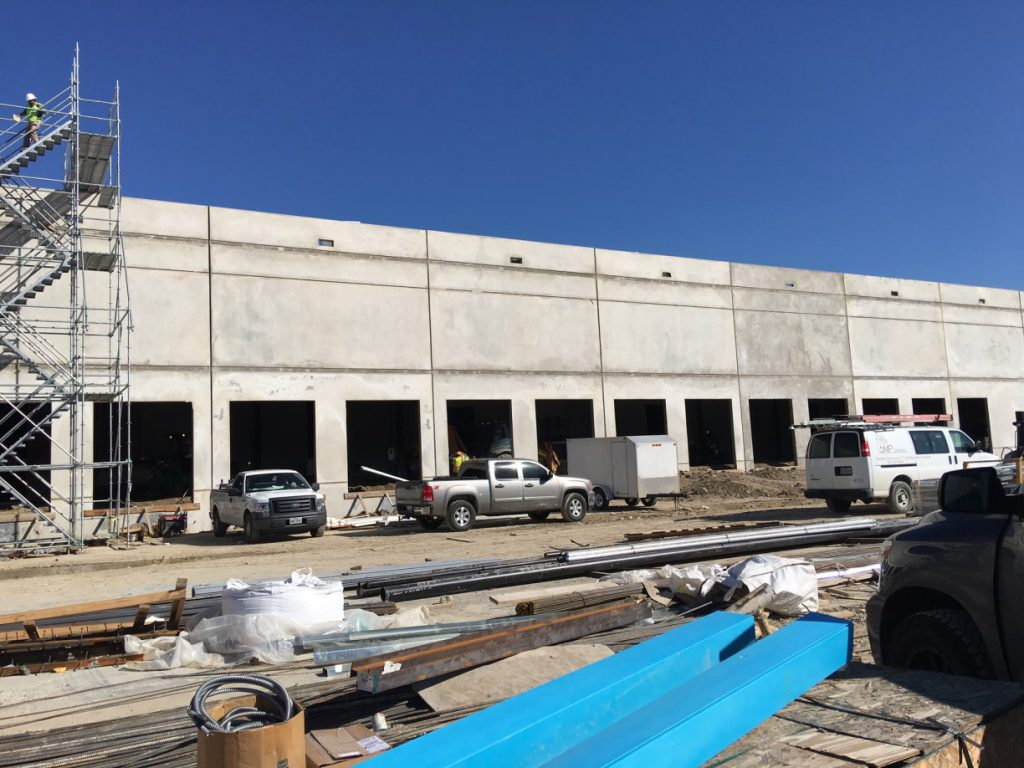 Cooler Warehouse Final Post Construction Clean Up in Dallas TX & Video Gallery | GRUBBS Construction Cleaning