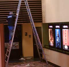 Movie Teather Post Construction Cleanup and Cleaning Service in Dallas TX 021 Movie Theater Cleaning Service