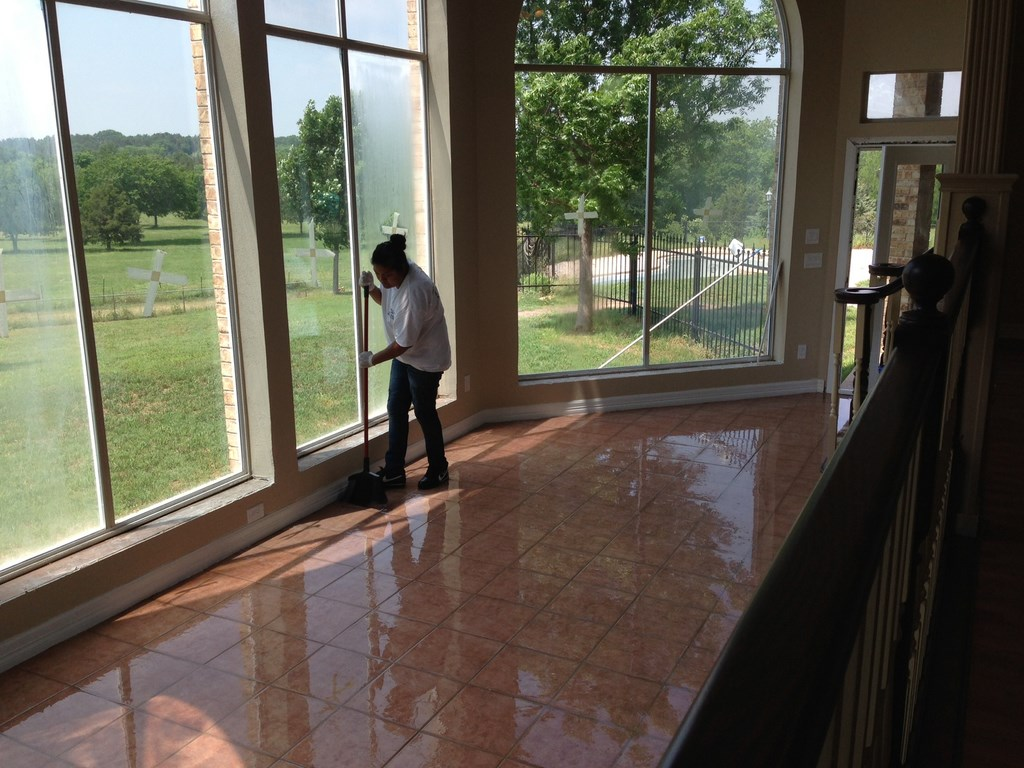 Ranch Home Post Construction Cleaning in Cedar Hill, Texas