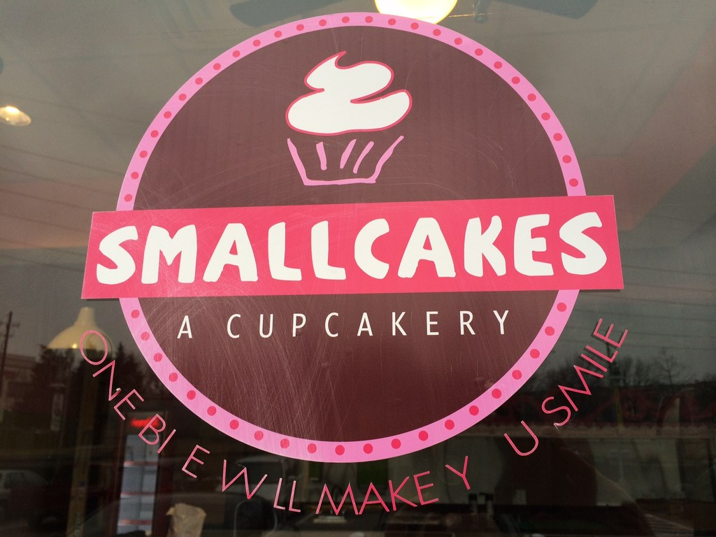 Smallcakes Bakery Art Design and Art Painting at Mockingbird Station in Dallas, Texas
