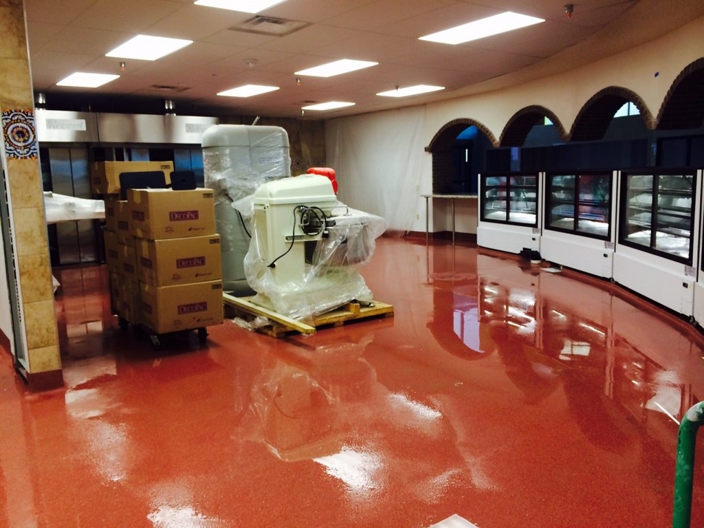 """Grocery Store """"El Rancho"""" Post Construction Clean Up - Phase $ in Dallas, Texas"""