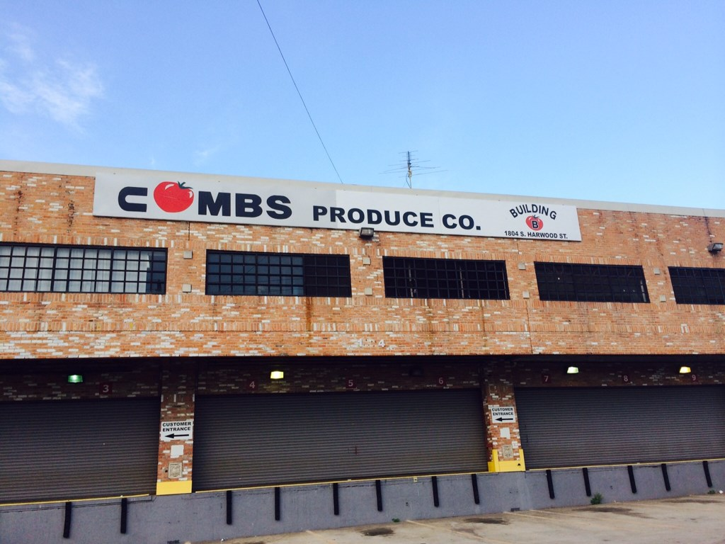 Tomatoes Combs Produce CO. Warehouse Move-Out Deep Cleaning Service in Dallas, Texas