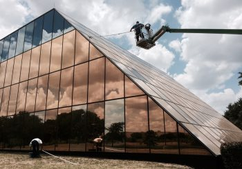 Phase 1 450000 sf. Exterior Windows Cleaning in Dallas TX 14 eaa69d395316e0bc9450d7e31918dc95 350x245 100 crop Glass Building 450,000+ sf. Exterior Windows Cleaning Phase 1 in Dallas, TX