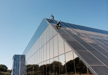 Phase 2 450000 sf. Exterior Windows Cleaning in Dallas TX 02 45a6ff7dd2b51287096bdbeedbdd6a7e 350x245 100 crop Glass Building 450,000+ sf. Exterior Windows Cleaning Phase 2 in Dallas, TX