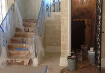 Post Construction Cleanup Mansion in Flower Mound Texas 20 78bc5db12a42b36ee84f8a1a4cb64434 350x245 100 crop Post Construction Cleanup   Mansion in Flower Mound, Texas