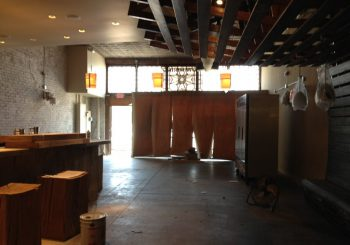Tanoshii Restaurant Bar Post Construction Cleaning in Downtown Dallas Texas 14 484b234a68400ee270731f430e81542b 350x245 100 crop Restaurant / Bar Post Construction Clean Up in Downtown Dallas, TX